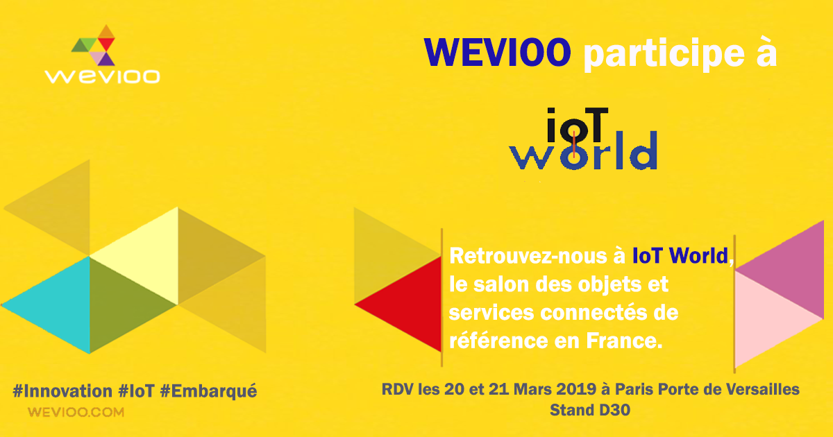 Wevioo IoT World 2019