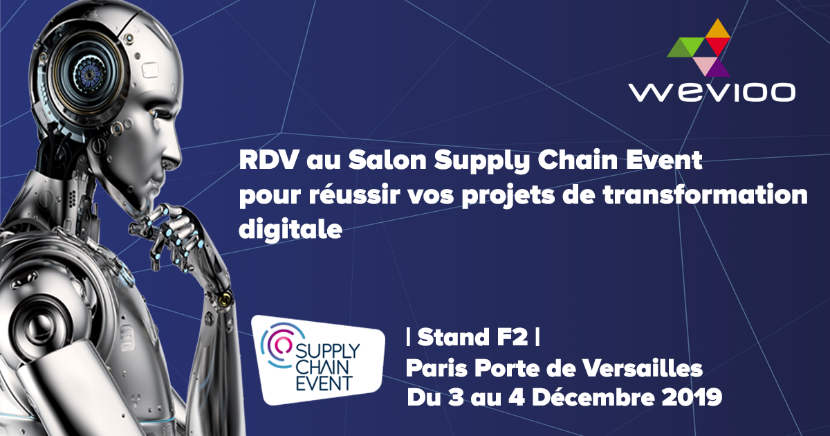 Wevioo Participe au Supply Chain Event
