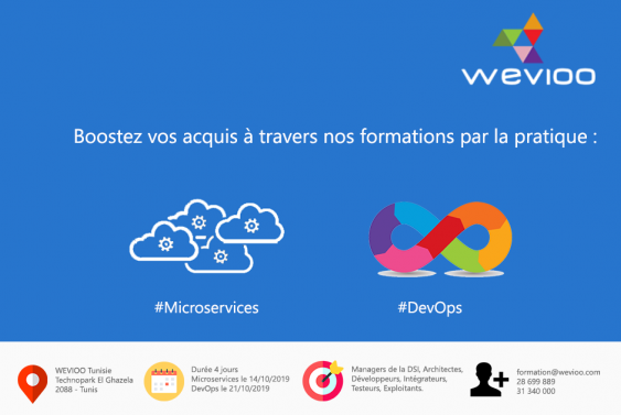 Formations Wevioo Training: Micorservices & DevOps
