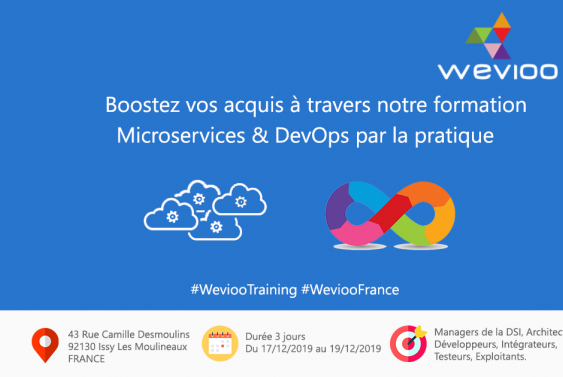 Wevioo Training Sessions : MICROSERVICES & DevOps par la pratique