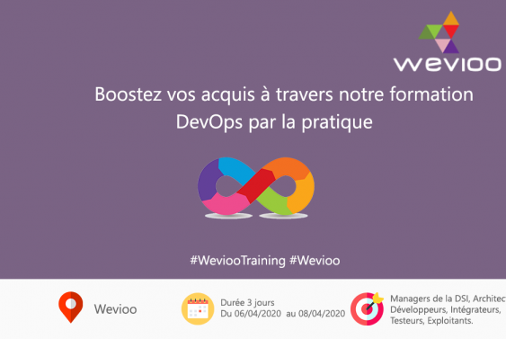 Wevioo Training Sessions : DevOps par la pratique Avril 2020